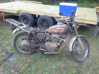 74 Honda CL360 Junkyard Find