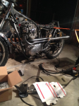 XS650 2-1 High Pipes