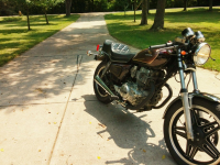 1981 Honda CM400C Custom 1st bike project