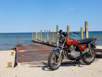 KZ200 by the water
