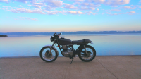 KZ200 on the lake