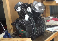 Engine rebuild finished