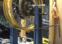 Rear wheel 3