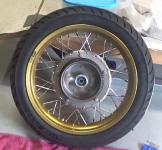 Rear wheel 4