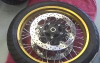 Rear wheel 5