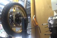 Rear wheel 6