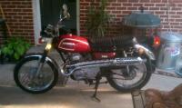 1972 Honda Cl175