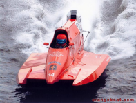 Tunnel Race Boat