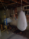Tank and side covers in primer