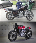 My Before and After CX500