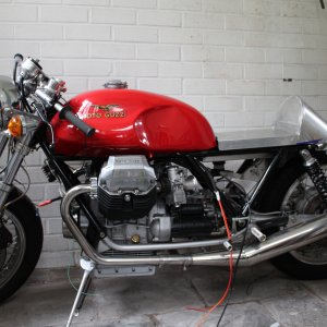 Guzzi 1000 cafe Project