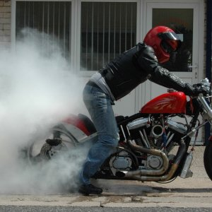 Merch 120 Nitrous Softail