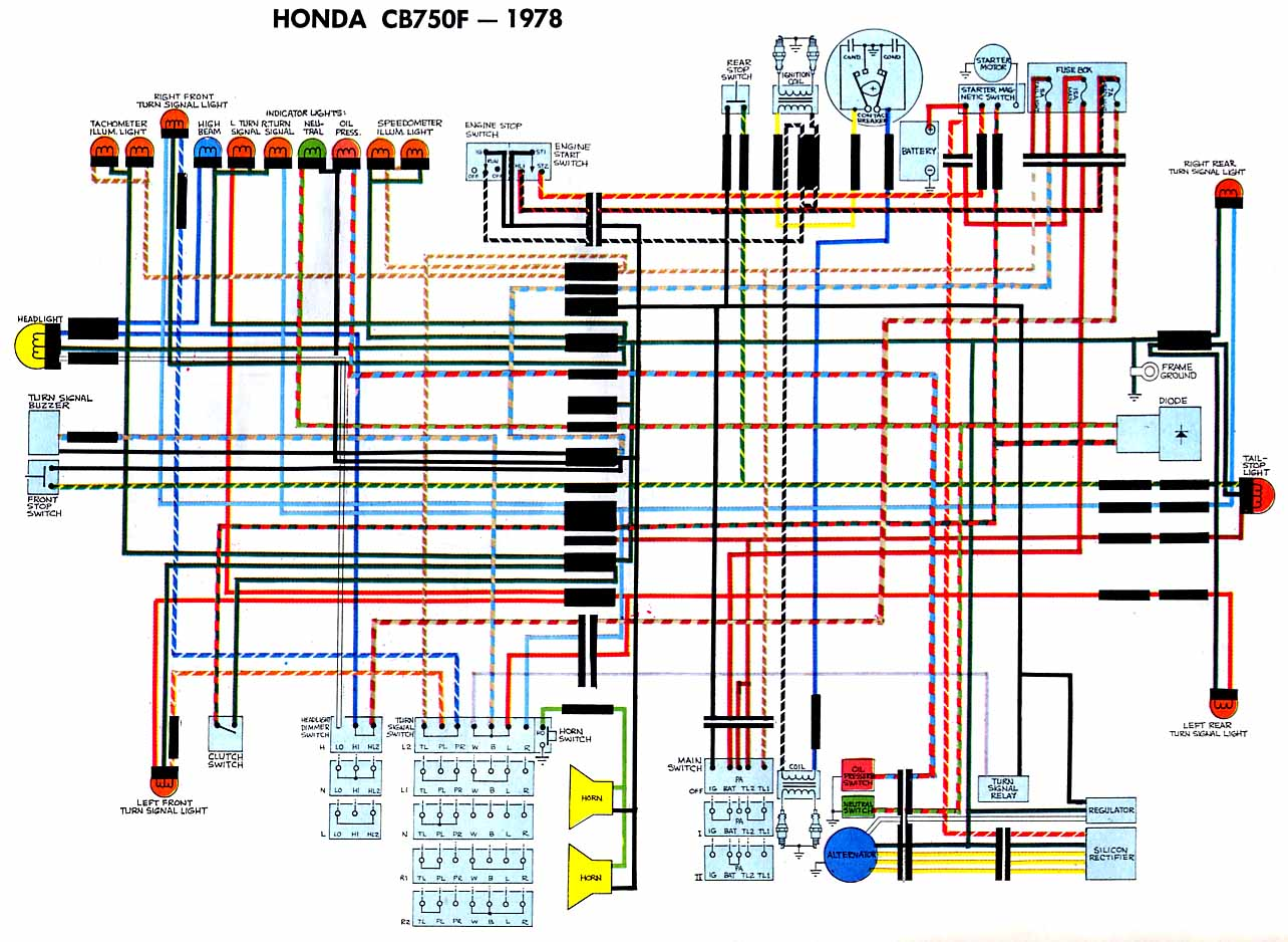 Honda Cb 750 Wiring Diagram - Wiring Diagram All leader-approve -  leader-approve.huevoprint.it | 1980 Honda Cb750 Wiring Diagram |  | Huevoprint